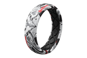 Falcon 3 Thin Ring - Groove Life Silicone Wedding Rings