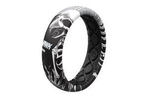 Full Hawk Thin Ring - Groove Life Silicone Wedding Rings