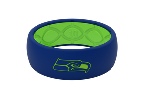 Original NFL Seattle Seahawks - Groove Life Silicone Wedding Rings