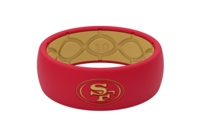 Original NFL San Francisco 49ers - Groove Life Silicone Wedding Rings