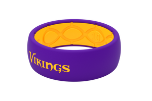 Original NFL Minnesota Vikings - Groove Life Silicone Wedding Rings