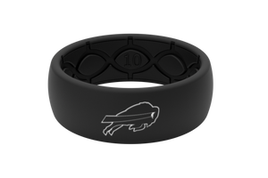 Original NFL Buffalo Bills Black - Groove Life Silicone Wedding Rings