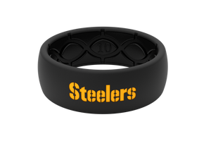 Original NFL Pittsburgh Steelers - Groove Life Silicone Wedding Rings