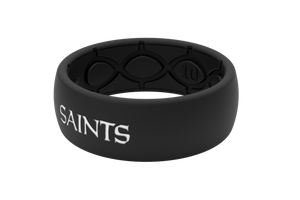 new style 5ef2a 8a5f9 New Orleans Saints Silicone Wedding Ring   Lifetime Warranty ...