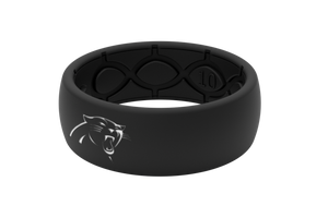 Original NFL Carolina Panthers Black - Groove Life Silicone Wedding Rings