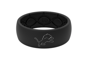 Original NFL Detroit Lions Black - Groove Life Silicone Wedding Rings