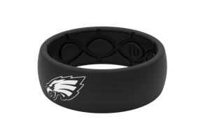 Original NFL Philadelphia Eagles Black - Groove Life Silicone Wedding Rings