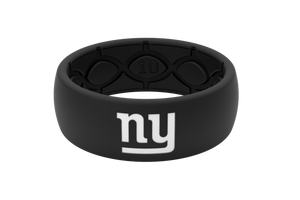 Original NFL New York Giants Black - Groove Life Silicone Wedding Rings
