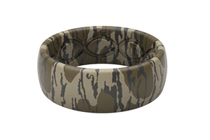 Original Camo Mossy Oak Bottomland - Groove Life Silicone Wedding Rings