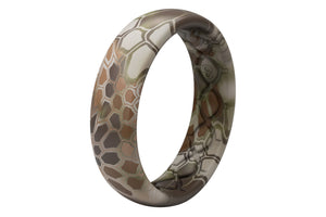 Thin Camo Kryptek Highlander - Groove Life Silicone Wedding Rings