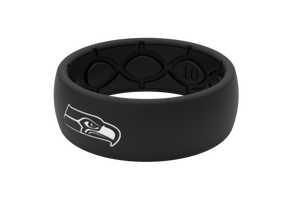 Original NFL Seattle Seahawks Black - Groove Life Silicone Wedding Rings