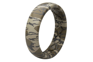 Thin Camo Mossy Oak Bottomland - Groove Life Silicone Wedding Rings