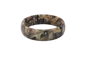 Thin Camo Mossy Oak Breakup Country - Groove Life Silicone Wedding Rings