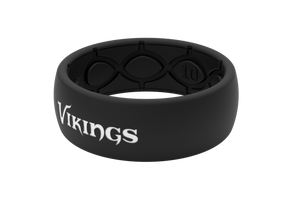 Original NFL Minnesota Vikings Black - Groove Life Silicone Wedding Rings