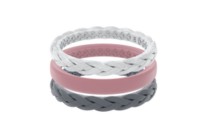 Serenity Stackable - Groove Life Silicone Wedding Rings