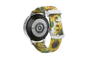 Sunflower Samsung 22mm Watch Band - Groove Life