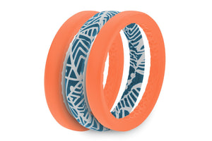Thin Air Coral Reef - Groove Life Silicone Wedding Rings