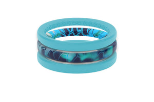 Thin Air Pontus - Groove Life Silicone Wedding Rings