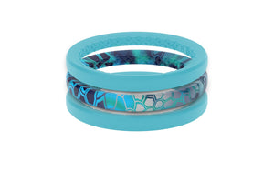 Pontus - Stackable - Groove Life Silicone Wedding Rings