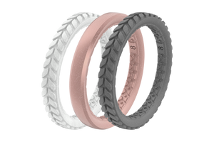 Mineral Stackable - Groove Life Silicone Wedding Rings