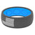 Original America Deep Stone Grey/White Flag - Groove Life Silicone Wedding Rings