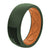 Original America Moss Green/Black Flag - Groove Life Silicone Wedding Rings