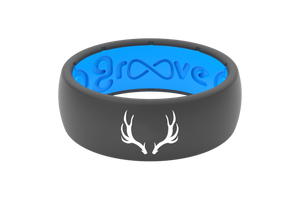 Original Custom Antlers Deep Stone Grey/Blue - Groove Life
