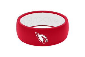 Original NFL Arizona Cardinals - Groove Life Silicone Wedding Rings
