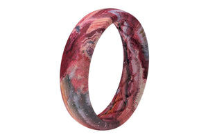 Red Rocks - Thin - Groove Life Silicone Wedding Rings