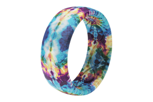 Groove Life Wild Thing Tie-Dye - Groove Life Silicone Wedding Rings