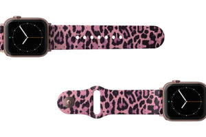 Apple Watch Band Aspire Leopard Love - Groove Life Silicone Wedding Rings