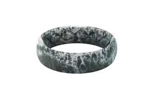 Tidal - Thin - Groove Life Silicone Wedding Rings