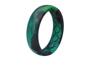 Aurora - Thin - Groove Life Silicone Wedding Rings