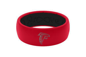 Original NFL Atlanta Falcons - Groove Life Silicone Wedding Rings