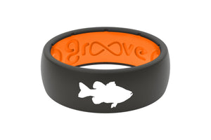 Original Custom Bass - Groove Life Silicone Wedding Rings