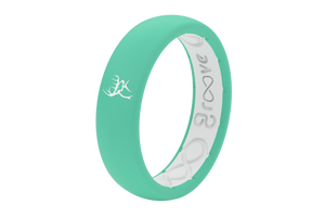 Thin Buck Commander Seafoam - Groove Life Silicone Wedding Rings