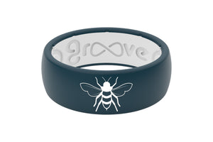 Original Custom Bee - Groove Life Silicone Wedding Rings