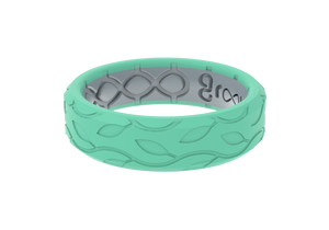 Thin Dimension Bella - Seafoam - Groove Life Silicone Wedding Rings