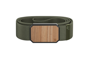 Groove Belt Light Cherry/Olive