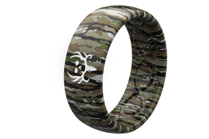 Original Camo Bone Collector Realtree - Groove Life Silicone Wedding Rings