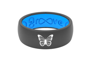 Original Custom Butterfly Deep Stone Grey/Blue - Groove Life