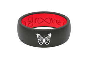 Original Custom Butterfly Red/Black - Groove Life