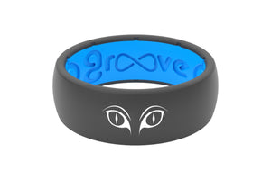 Original Custom Cat Eyes - Groove Life Silicone Wedding Rings