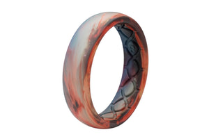 Thin Aspire Cirrus - Groove Life Silicone Wedding Rings