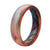 Cirrus - Thin - Groove Life Silicone Wedding Rings