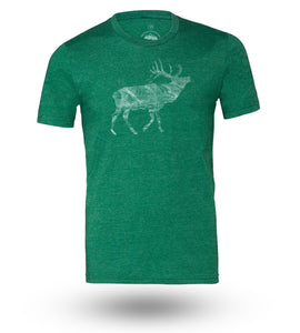 Shirt Adventure Gear Elk Grass Green Heather - Groove Life Silicone Wedding Rings
