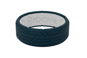 Edge Dimension Wired Anchor - Groove Life Silicone Wedding Rings