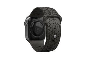 PREORDER | Watch Band Dimension Kryptek Etch Black | Ships in August - Groove Life Silicone Wedding Rings