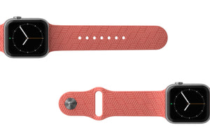 PREORDER | Watch Band Dimension Chevron Coral | Ships in August