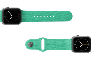 PREORDER | Watch Band Dimension Chevron Seafoam | Ships in August
